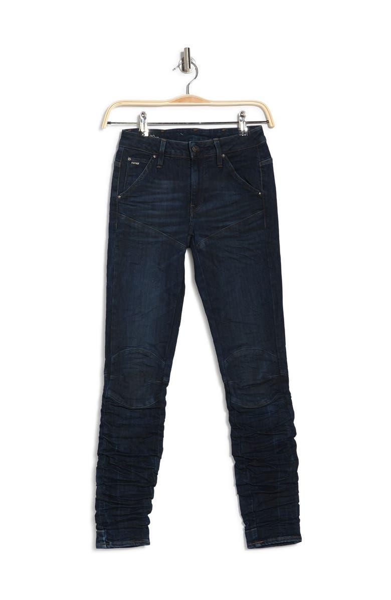 G-STAR RAW 5620 Staq 3D Mid Skinny Jeans, Main, color, 960