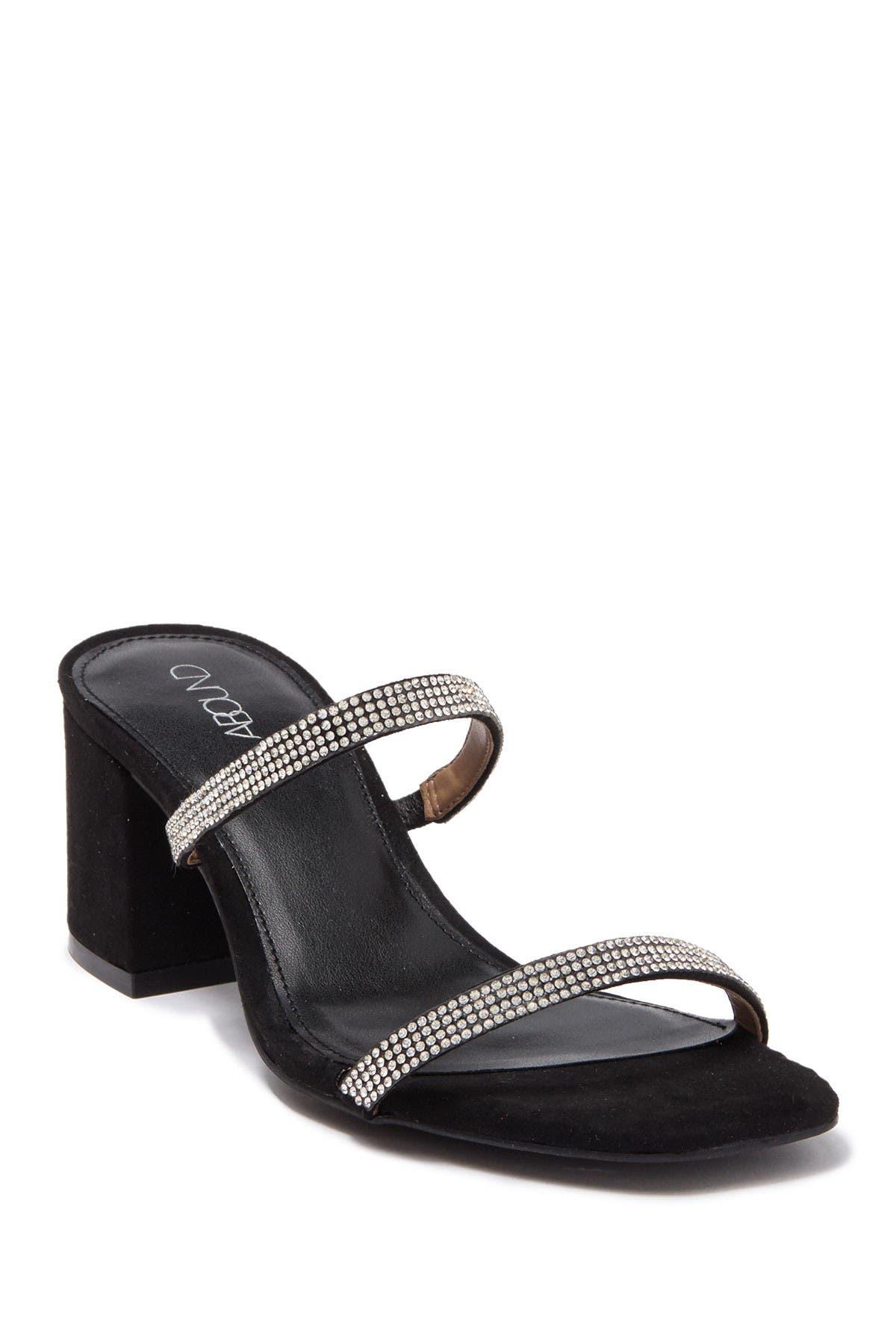 Abound | Lacey Black Heel Sandal