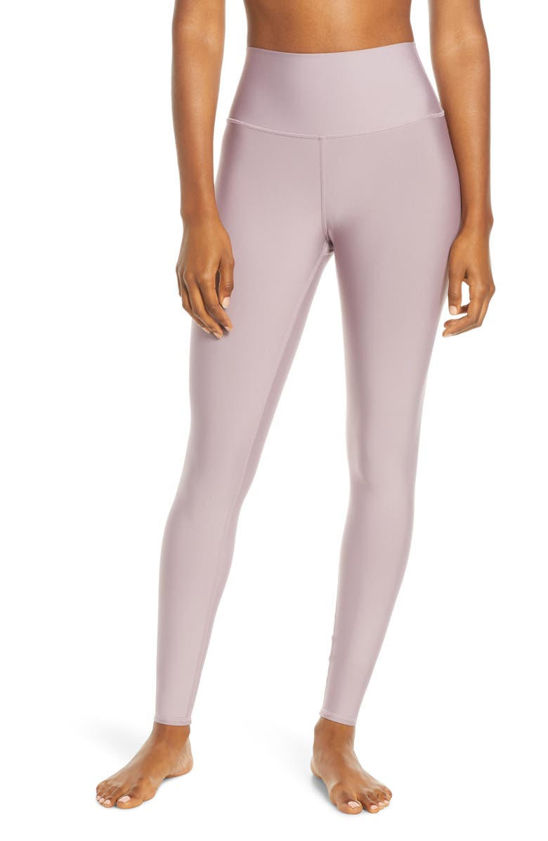 ALO Airlift High Waist Leggings, Main, color, DUSTED PLUM