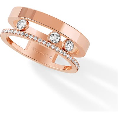 Messika Two Row Move Romane Diamond Ring