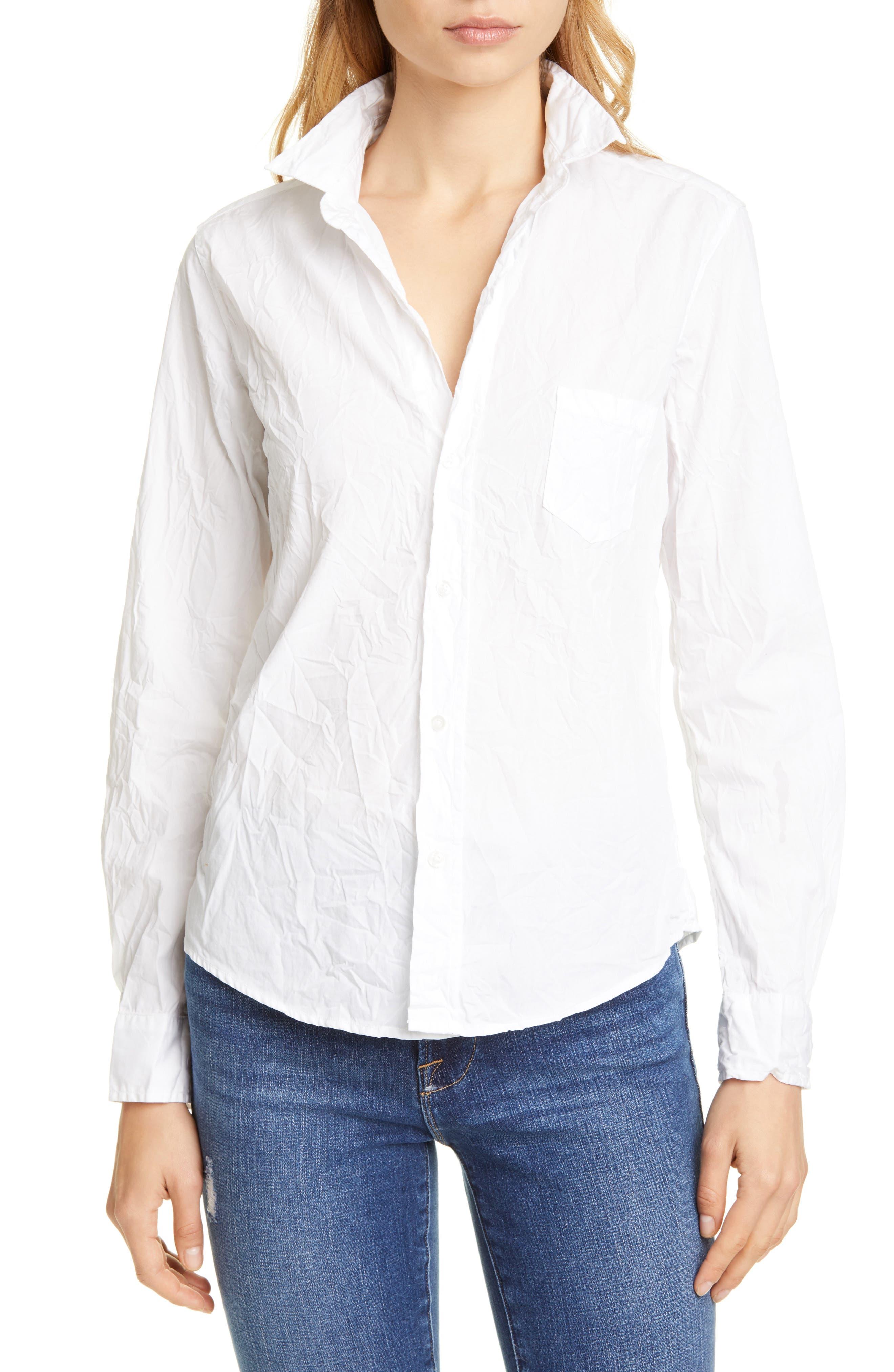 Barry Signature Crinkle Cotton Shirt