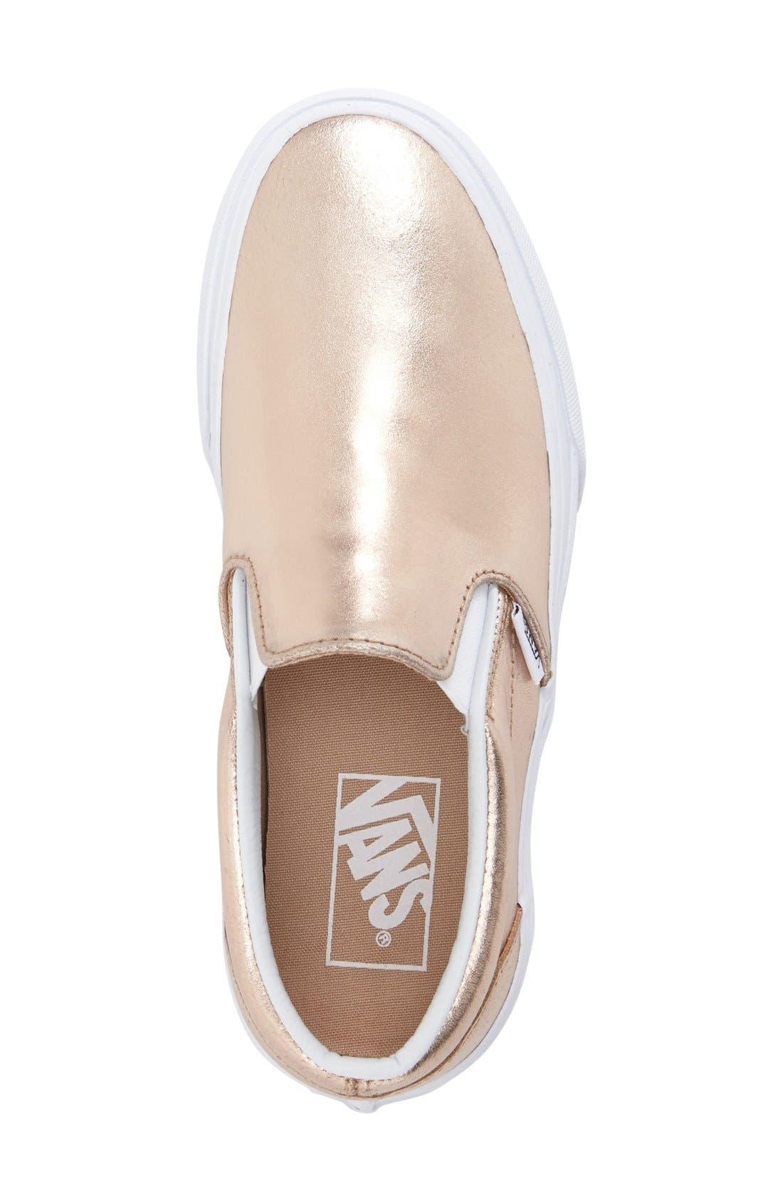 ,                             Classic Slip-On Sneaker,                             Alternate thumbnail 390, color,                             651