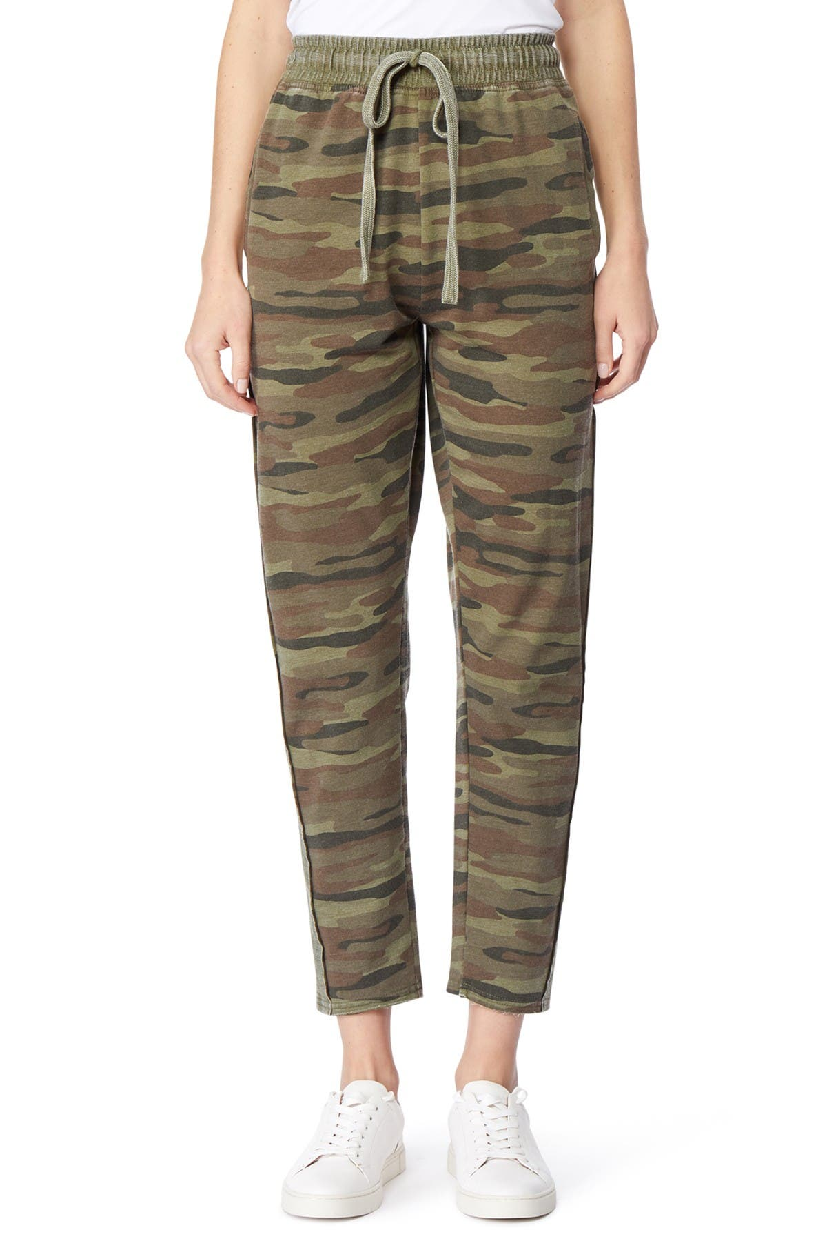 Image of C & C California Madelyn Faded Effect Pants