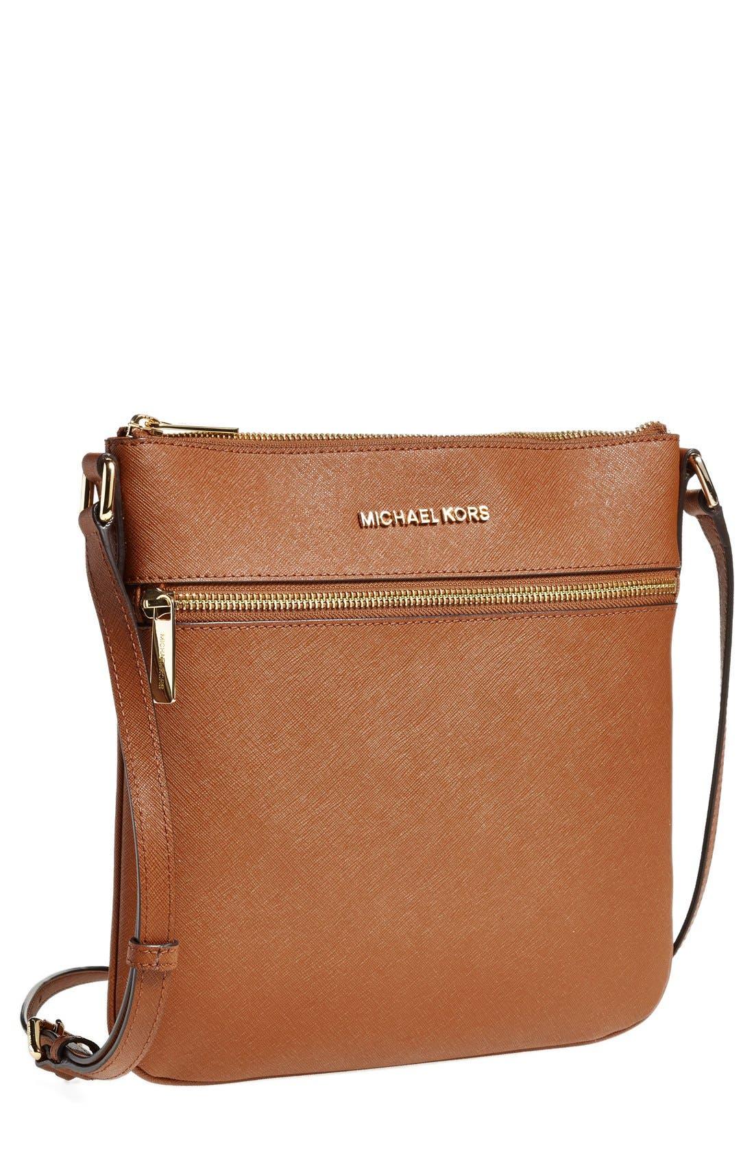 ,                             'Bedford' Saffiano Leather Crossbody Bag,                             Main thumbnail 10, color,                             235