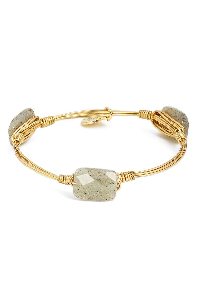 BOURBON AND BOWETIES ExtraSmall Stone Bracelet, Main, color, 020
