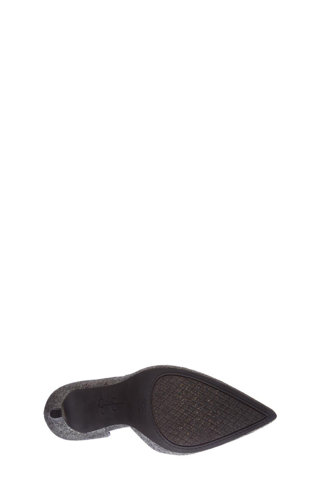 ,                             'Claudette' Half d'Orsay Pump,                             Alternate thumbnail 8, color,                             002
