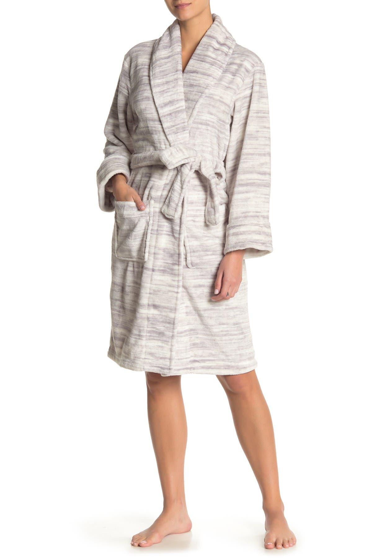 Image of Daniel Buchler Space Dye Faux Fur Robe
