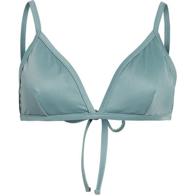 Madewell Second Wave Cutout Bralette Bikini Top
