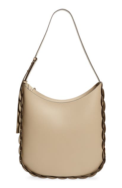 Chloé LARGE DARRYL LEATHER HOBO