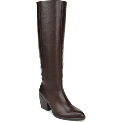 Naturalizer Fae Tall Boot, Wide Calf- Brown