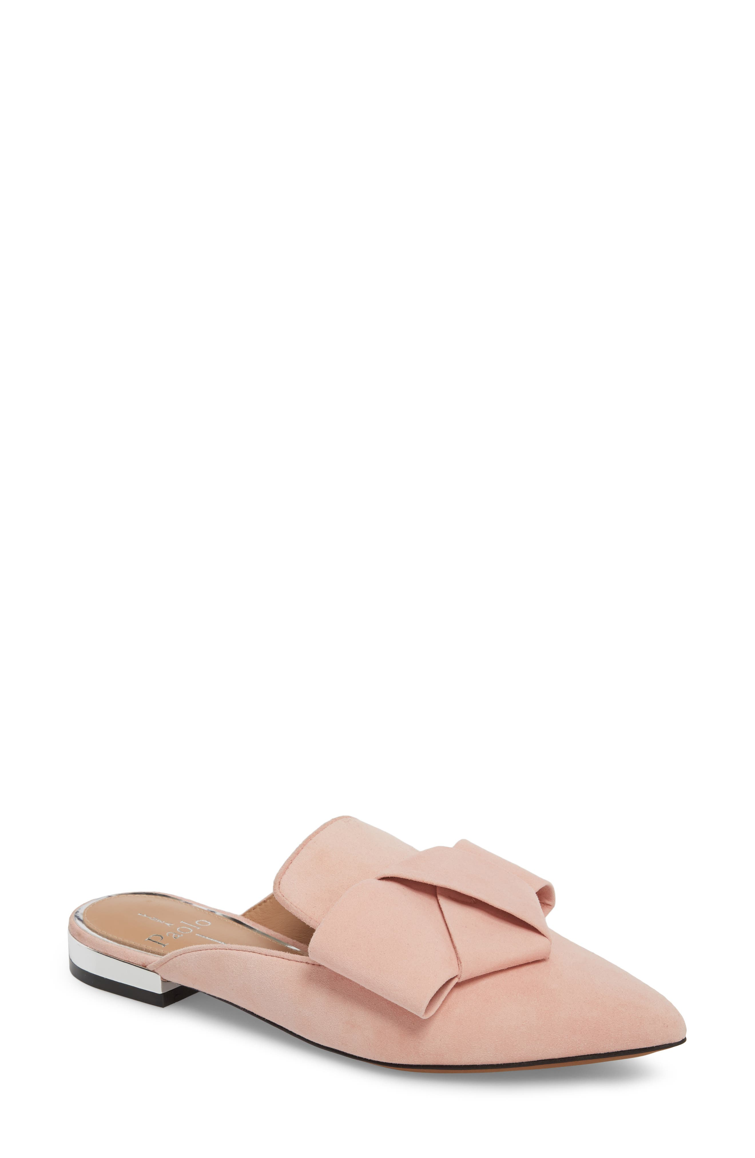Linea Paolo Anya Bow Mule, Pink