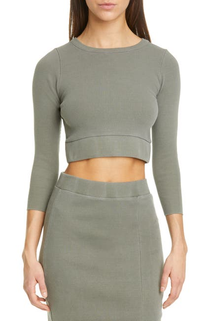 Image of NSF CLOTHING Beatrice Ribbed Crop Top