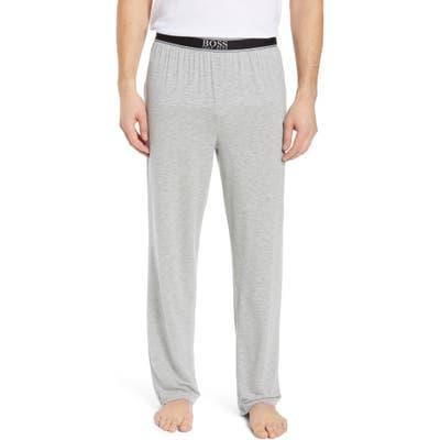 Boss Micromodal Pajama Pants, Grey
