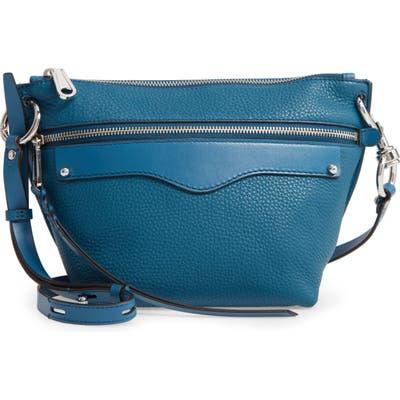 Rebecca Minkoff Hayden Leather Crossbody Bag - Blue
