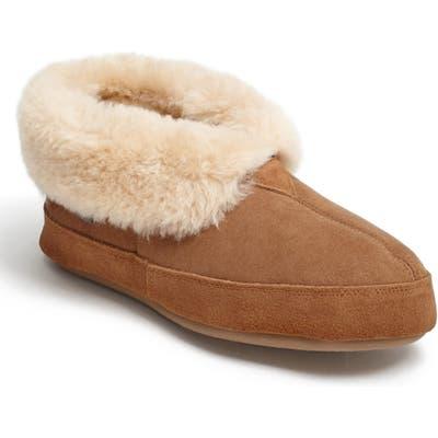 Acorn Genuine Sheepskin Slipper, Brown