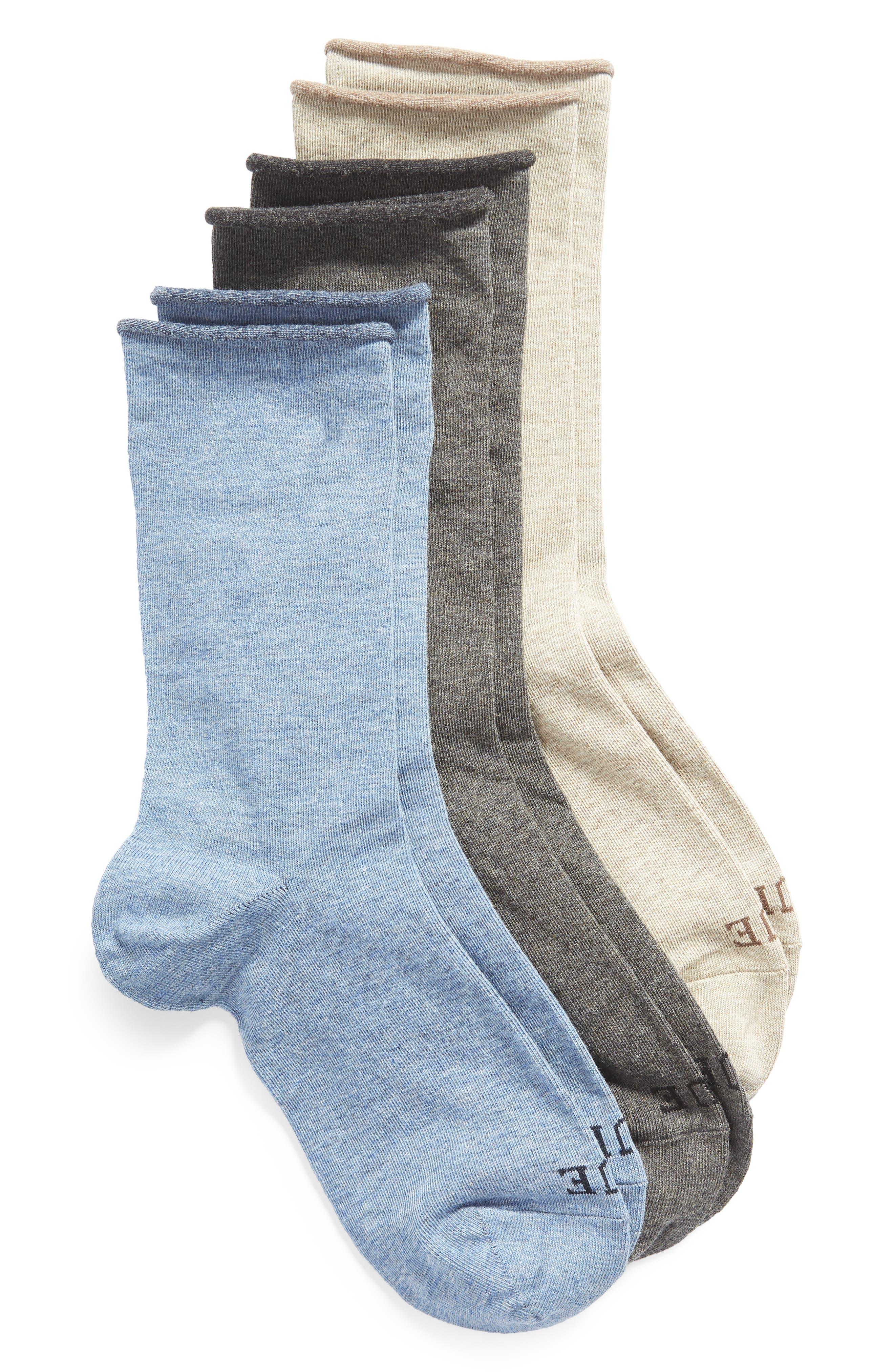 Jeans 3-Pack Crew Socks