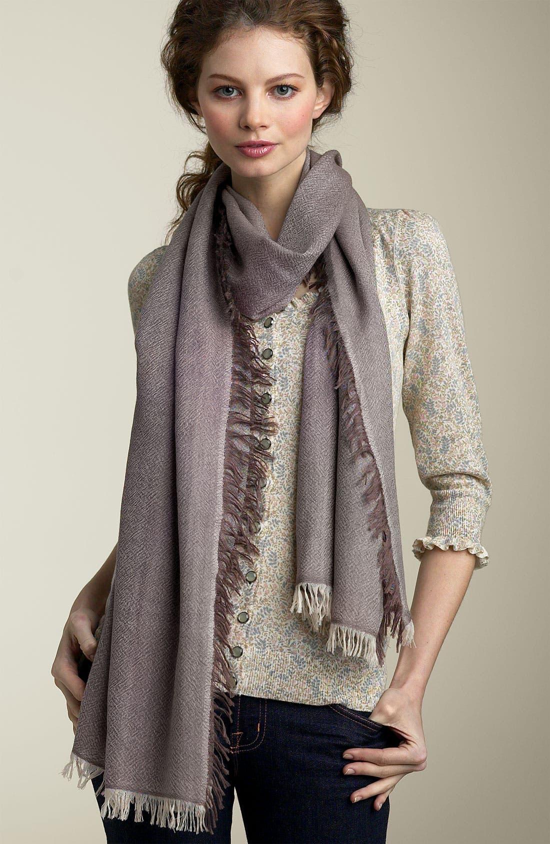 ,                             'Eyelash' Colorblock Cashmere Wrap,                             Main thumbnail 20, color,                             250