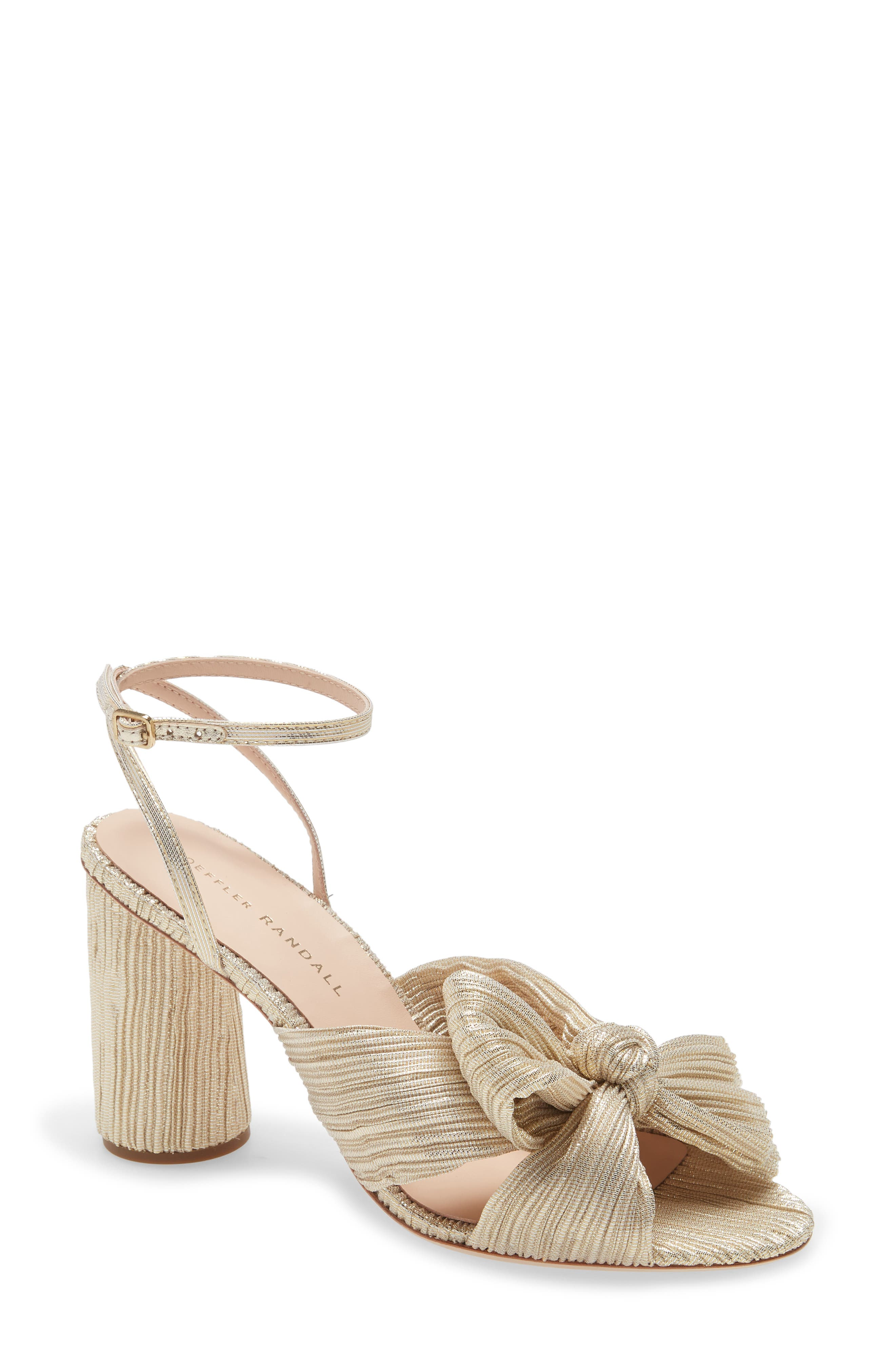 Camellia Knotted Sandal