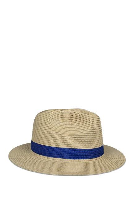Image of Hat Attack Color Stripe Fedora