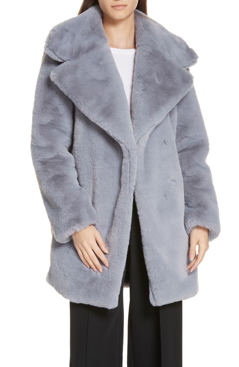 131fef28f0f5 Riley Faux Fur Coat, Main, color, 020