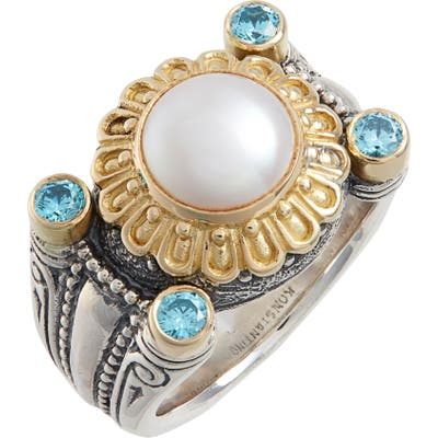 Konstantino Thalia Pearl Statement Ring