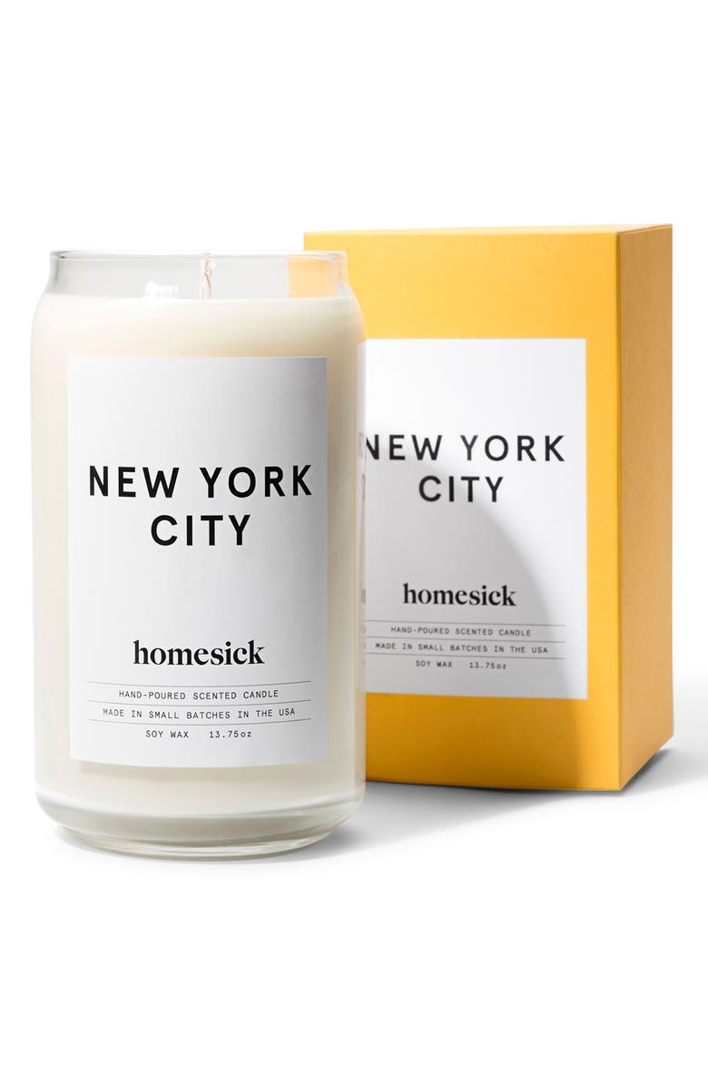 HOMESICK City Soy Wax Candle, Main, color, NEW YORK CITY