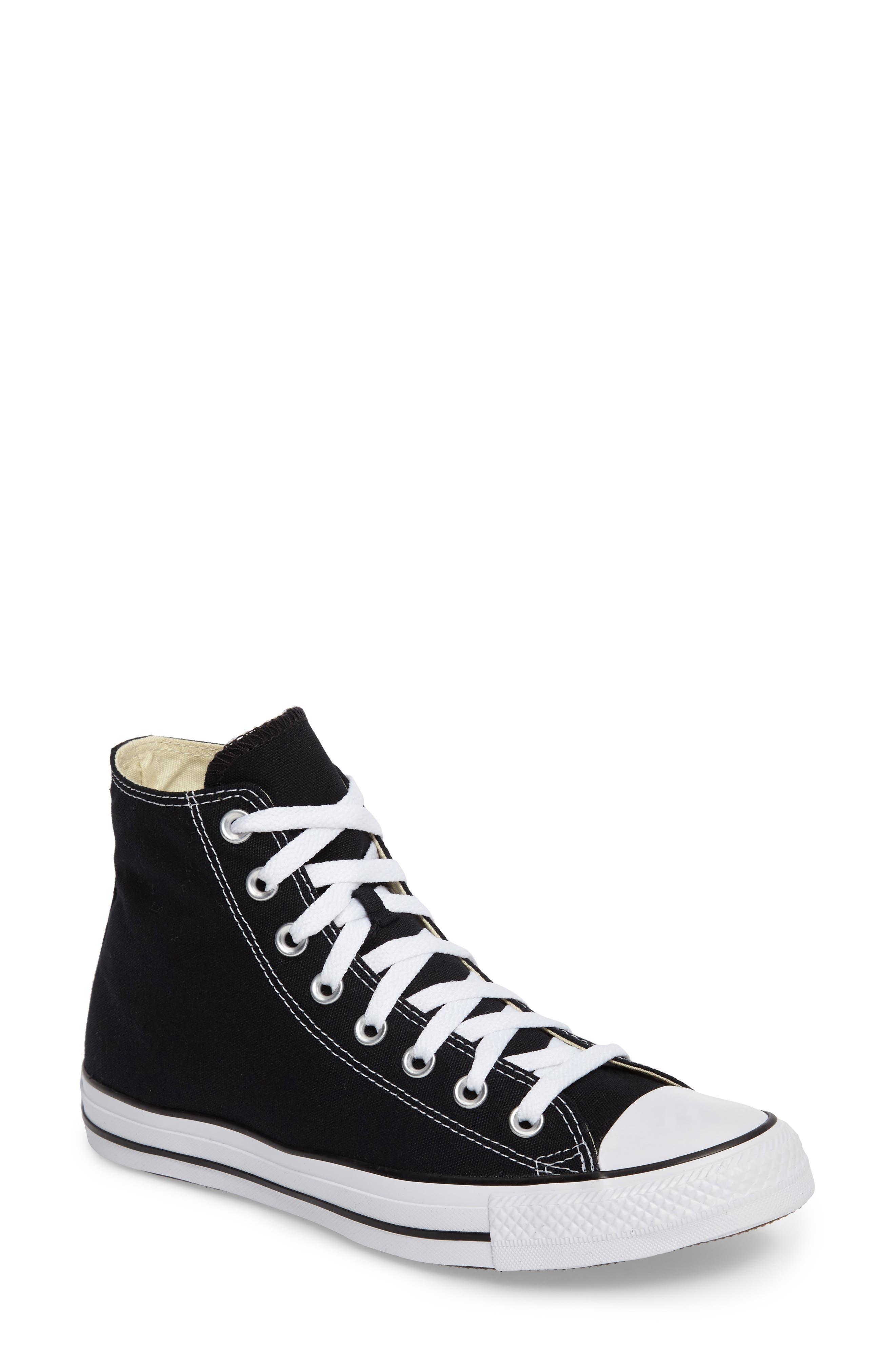 Converse Chuck Taylor High Top Sneaker, Black