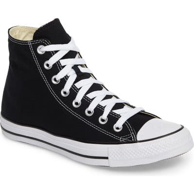 Converse Chuck Taylor High Top Sneaker, Black