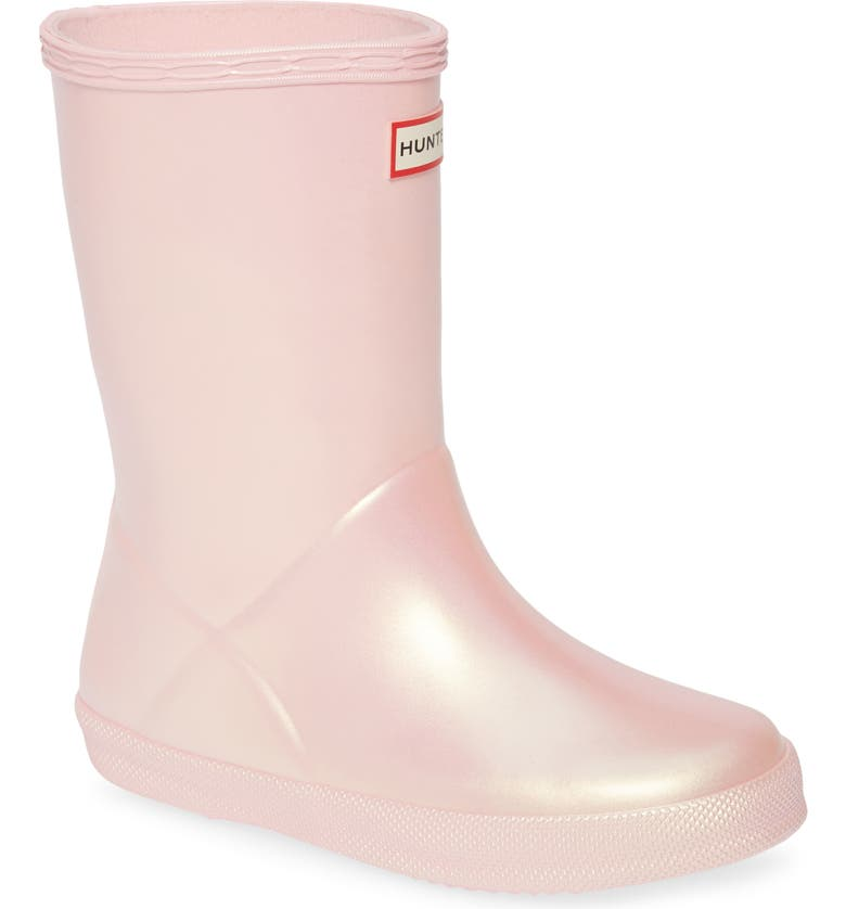 HUNTER First Classic Nebula Waterproof Rain Boot, Main, color, BELLA