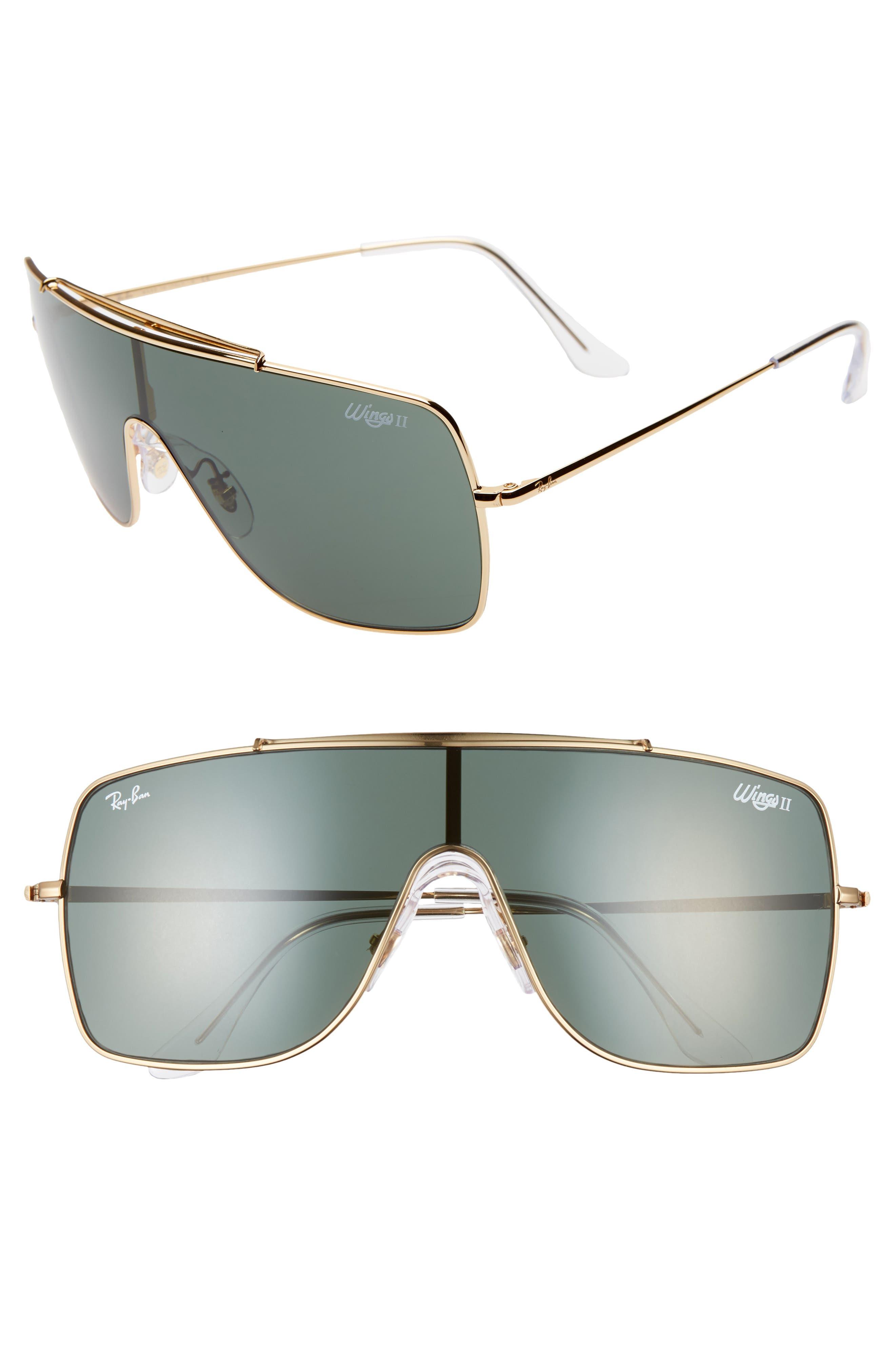 Ray-Ban 1 Shield Sunglasses - Gold