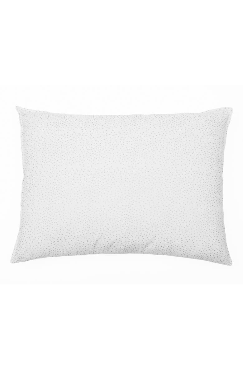 POM POM AT HOME Dot Big Accent Pillow, Main, color, SILVER