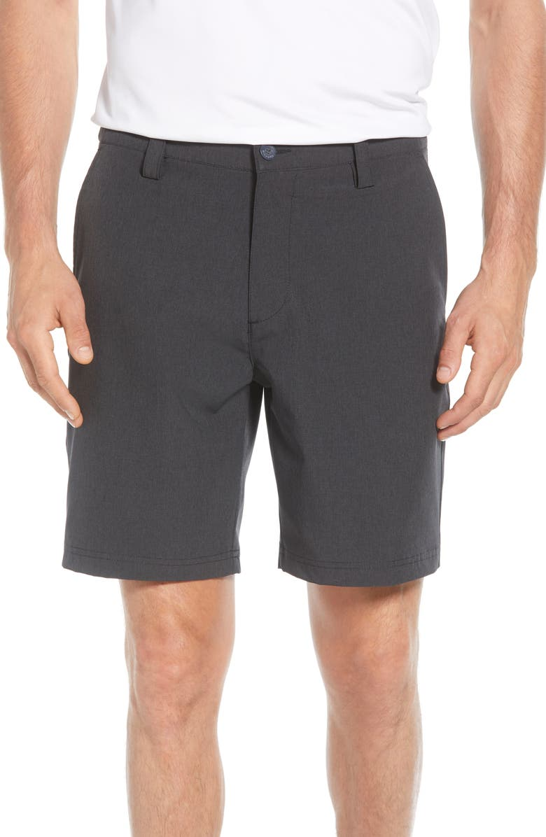 TORI RICHARD Surf 'n' Turf Shorts, Main, color, BLACK
