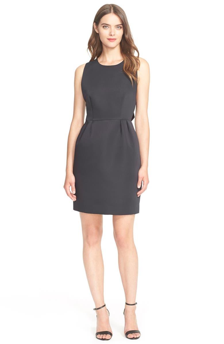 KATE SPADE NEW YORK bow back dress, Main, color, 001