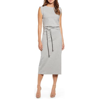Bishop + Young French Terry Dress, Grey