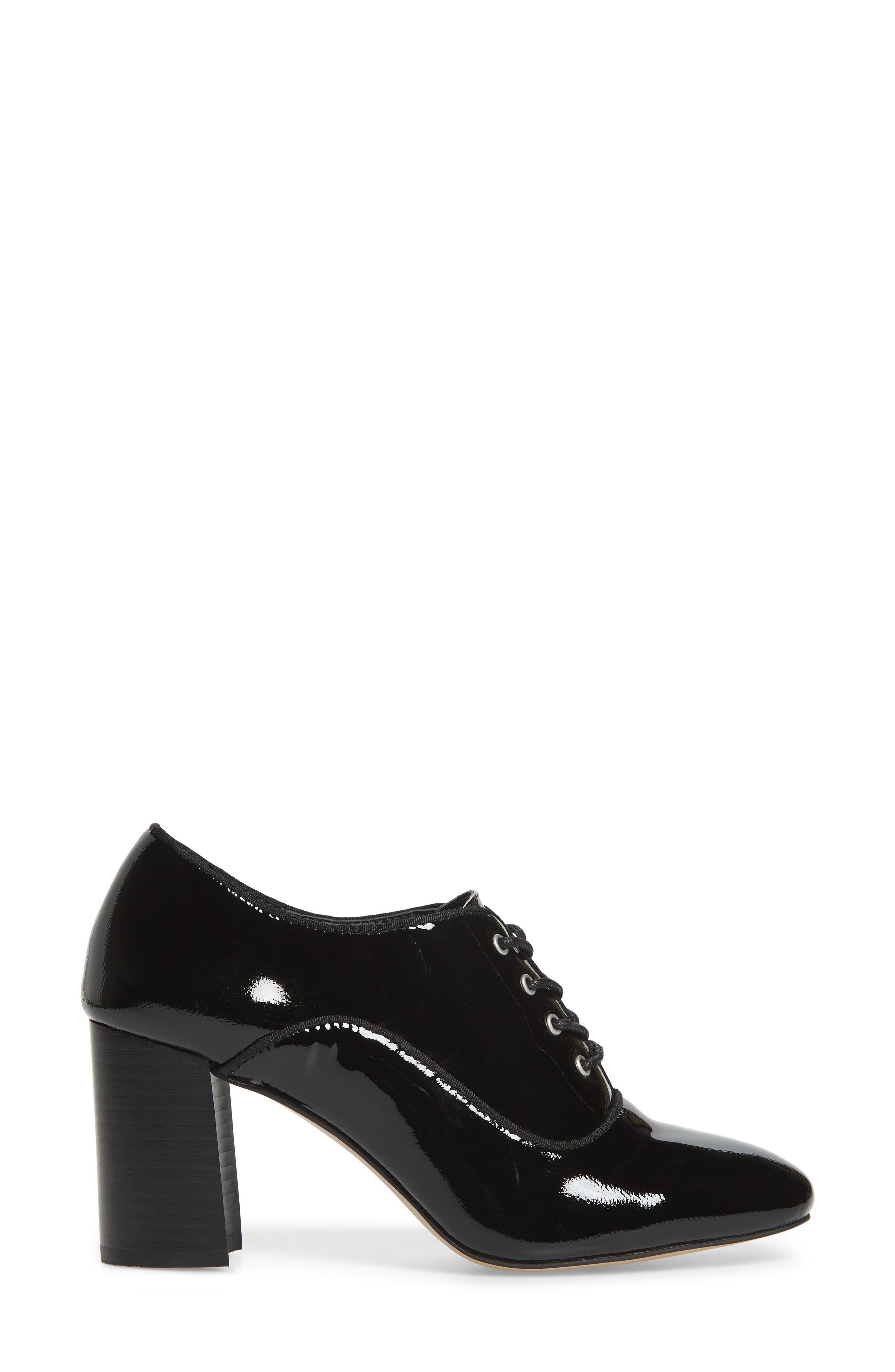,                             Envy Oxford Pump,                             Alternate thumbnail 3, color,                             BLACK FAUX PATENT