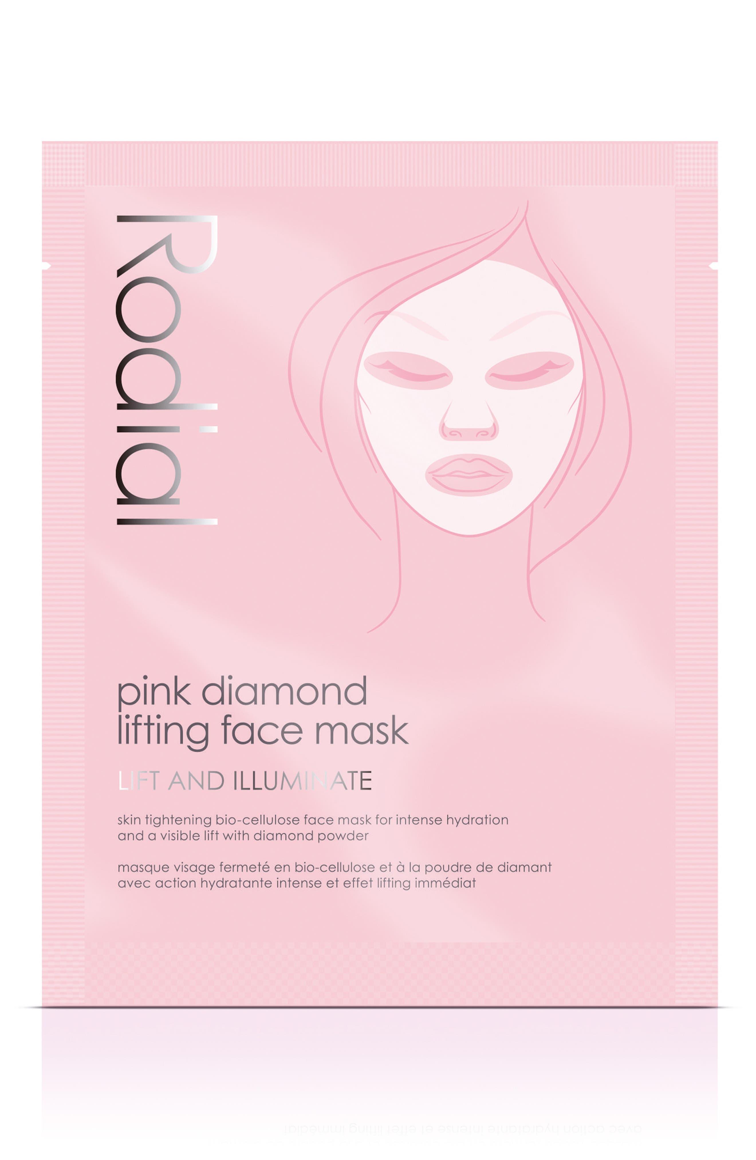 ,                             SPACE.NK.apothecary Rodial Pink Diamond Lifting Face Mask,                             Main thumbnail 1, color,                             NO COLOR