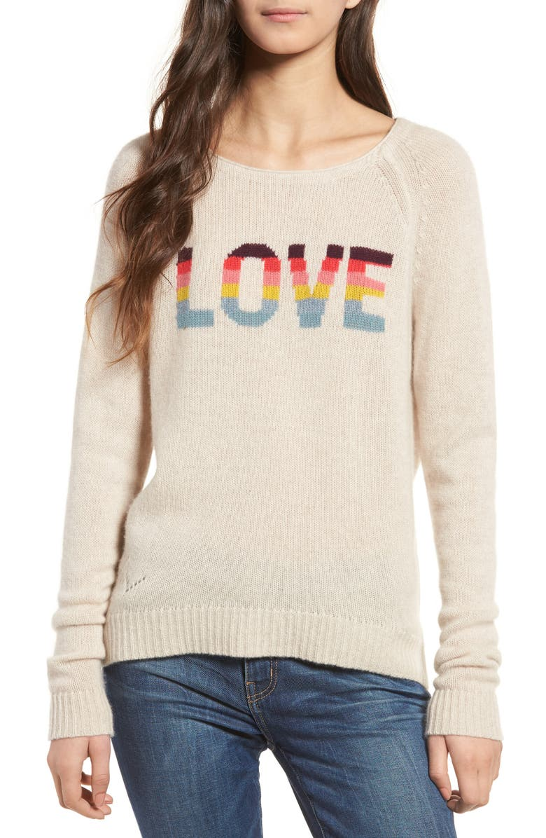 ZADIG & VOLTAIRE Baly Bis Cashmere Sweater, Main, color, 252