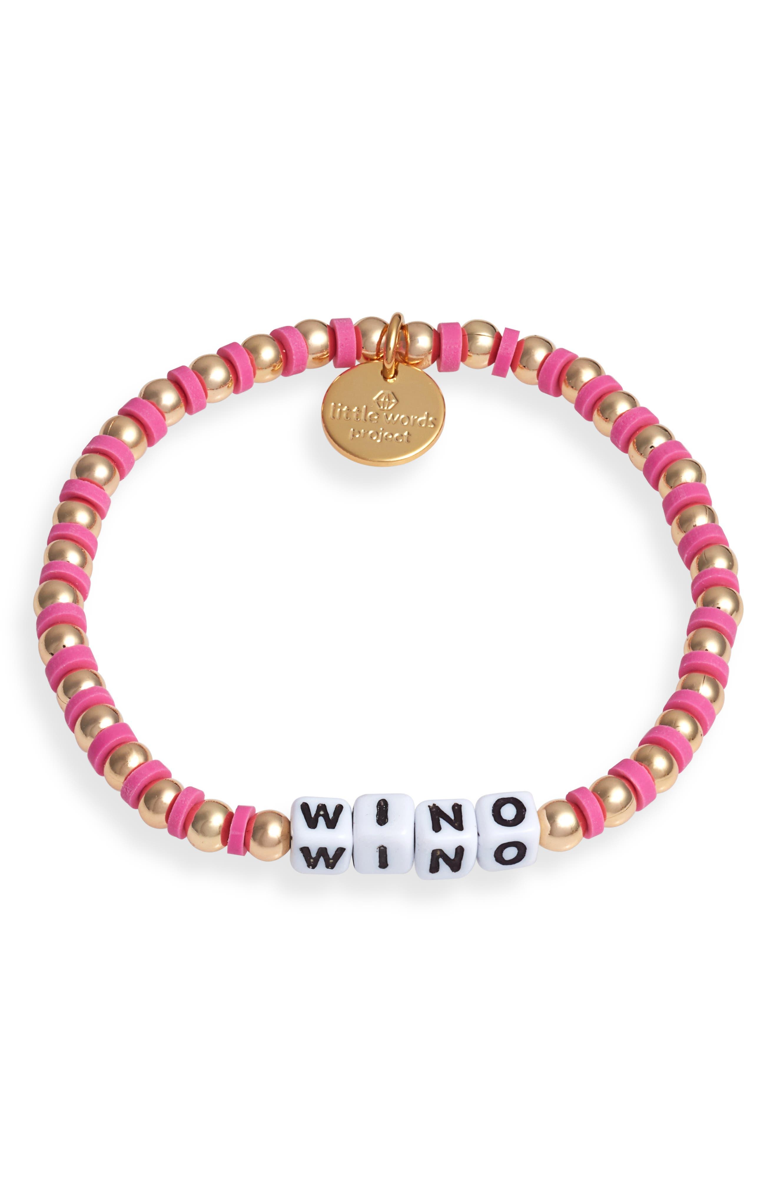 Wino Beaded Stretch Bracelet