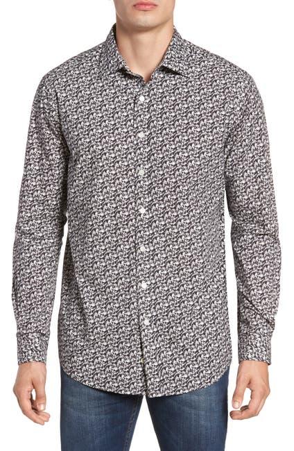 Image of RODD AND GUNN Bucklands Beach Long Sleeve Original Fit Shirt