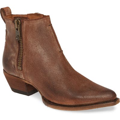 Frye Sacha Moto Short Bootie, Brown