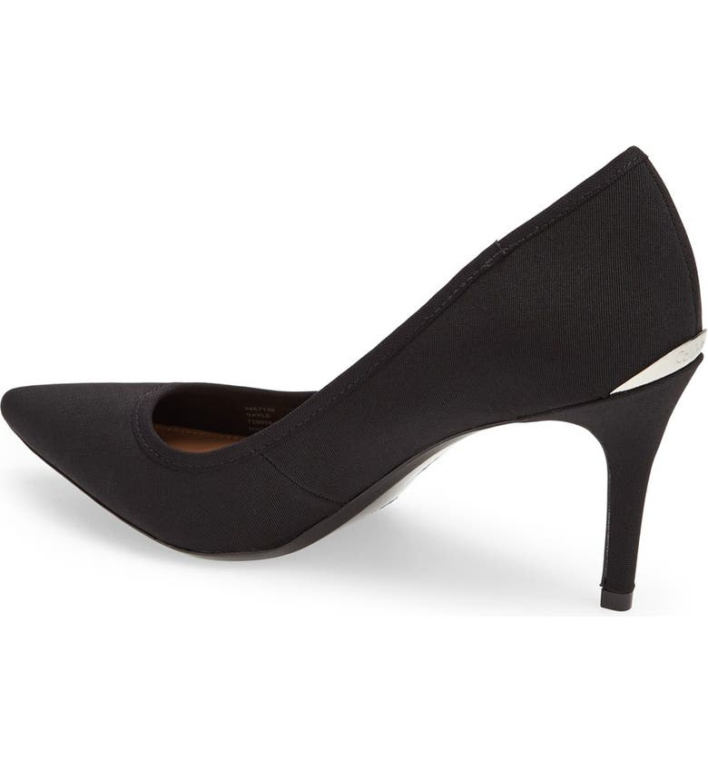 CALVIN KLEIN Gayle Pointed Toe Pump, Main, color, 001