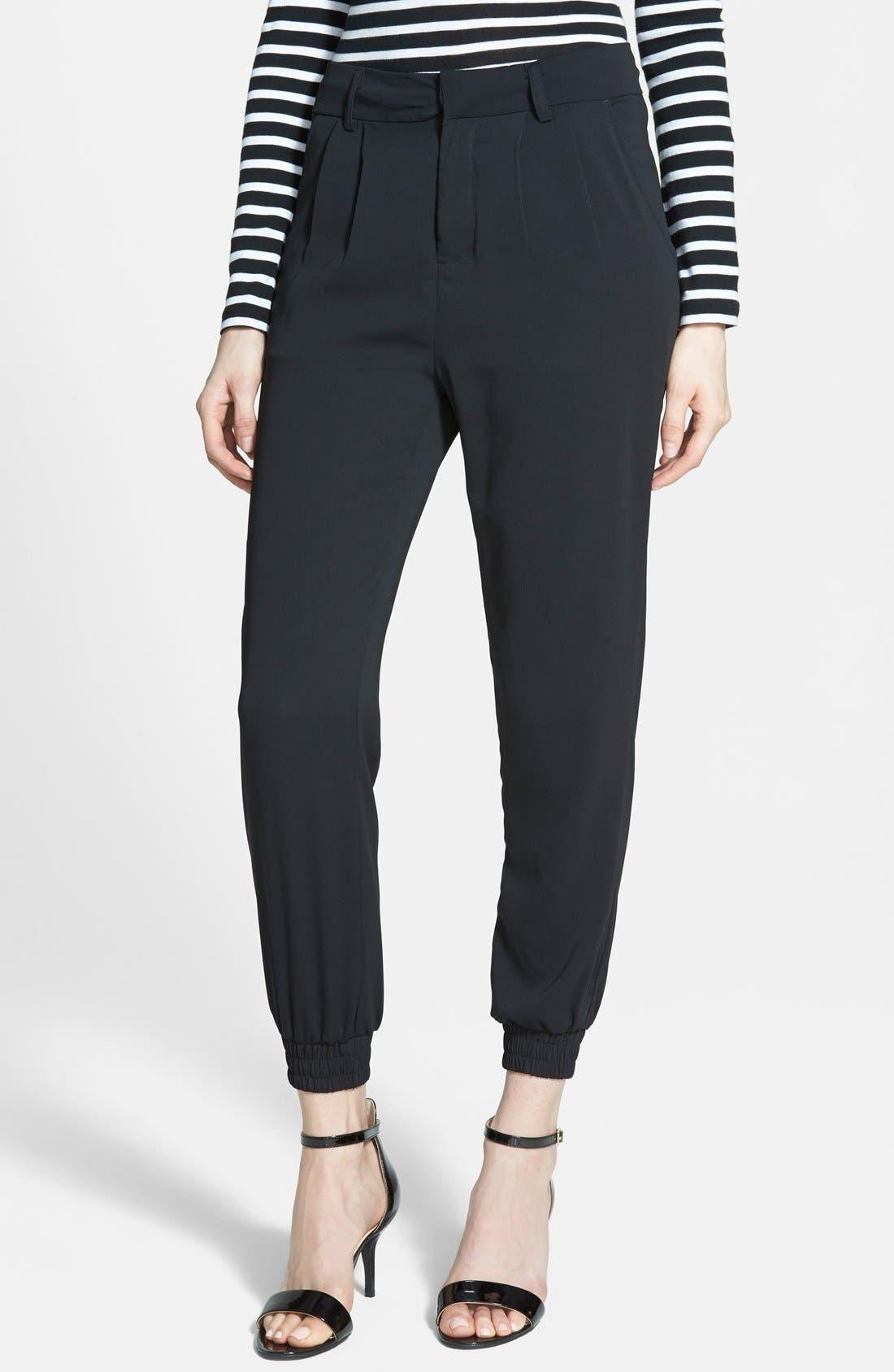 'Preppy' Jogger Pants, Main, color, 001