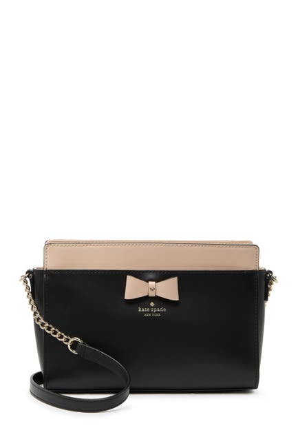 Image of kate spade new york leather angelica crossbody bag