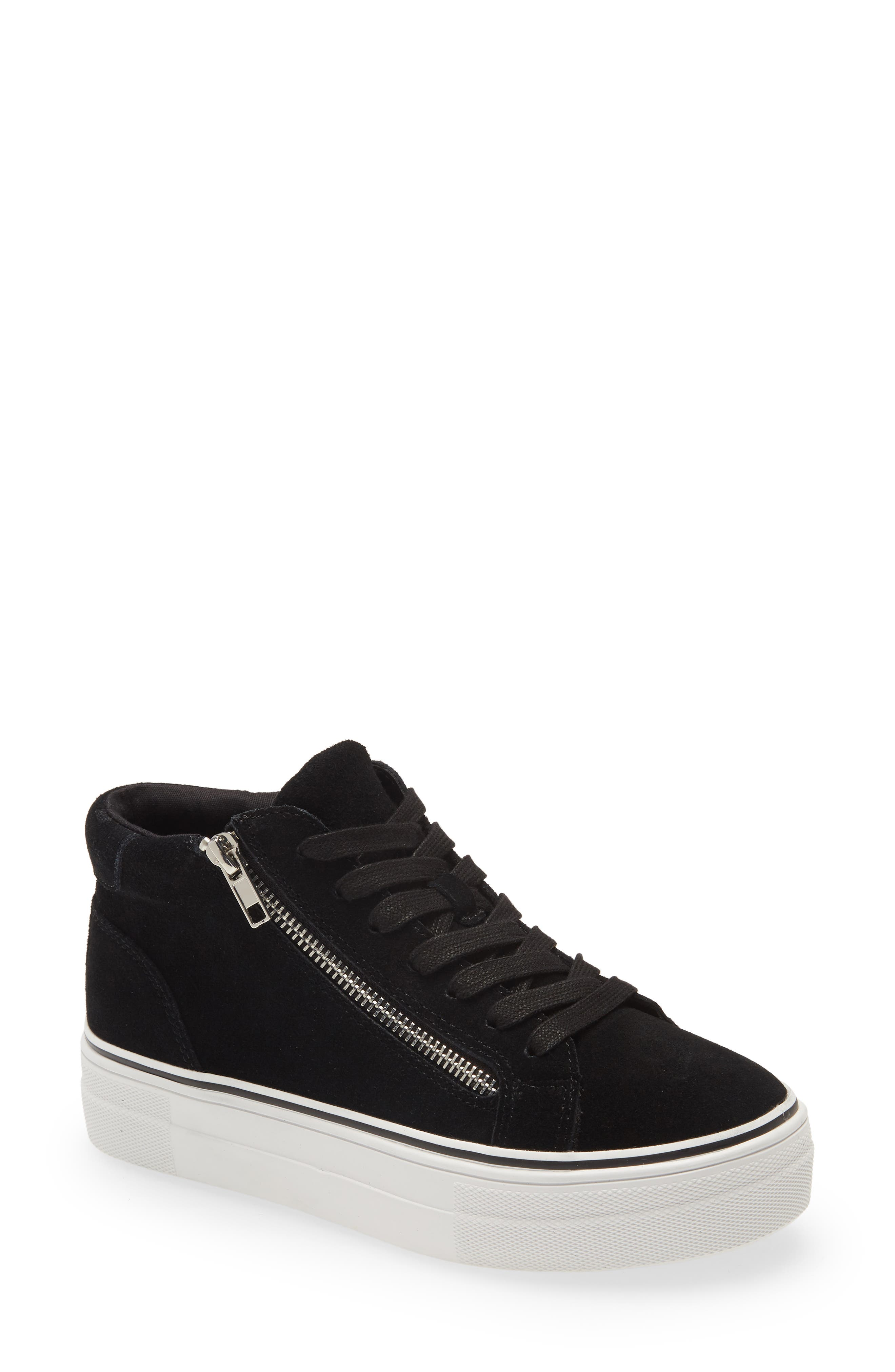 Image of Steve Madden Gryphon Suede High Top Sneaker