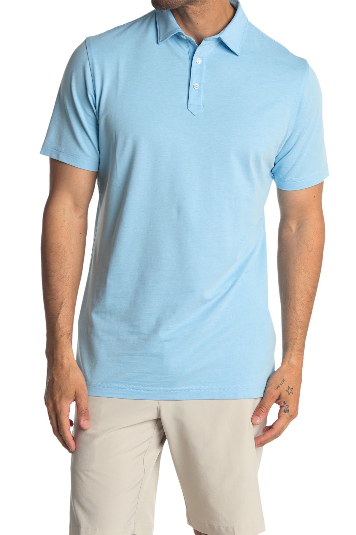 Image of Peter Millar Ace Pique Polo Shirt