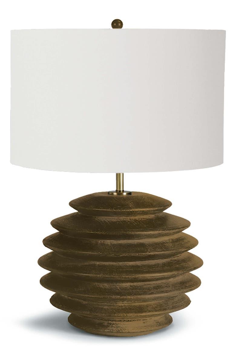 REGINA ANDREW Round Accordion Table Lamp, Main, color, NATURAL