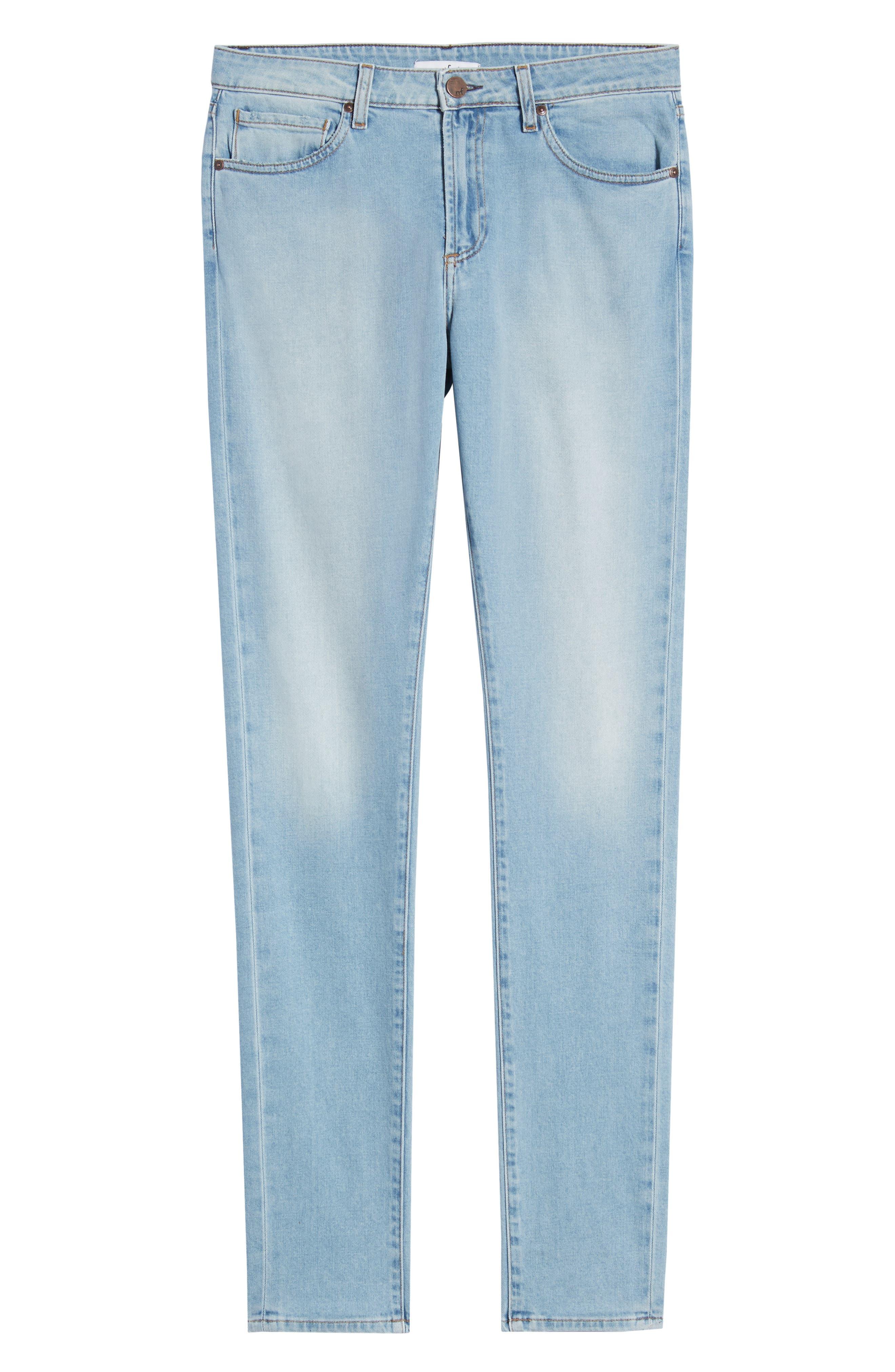 ,                             Greyson Skinny Fit Jeans,                             Alternate thumbnail 7, color,                             MYKONOS