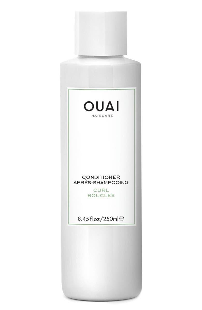 OUAI Curl Conditioner, Main, color, NO COLOR