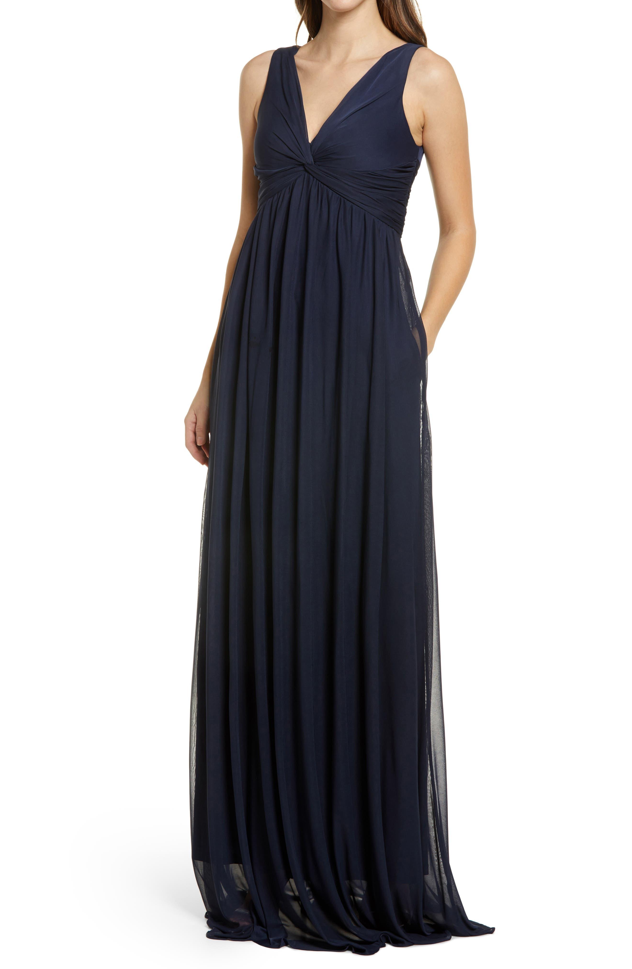 Lianna Empire Waist Sleeveless Gown