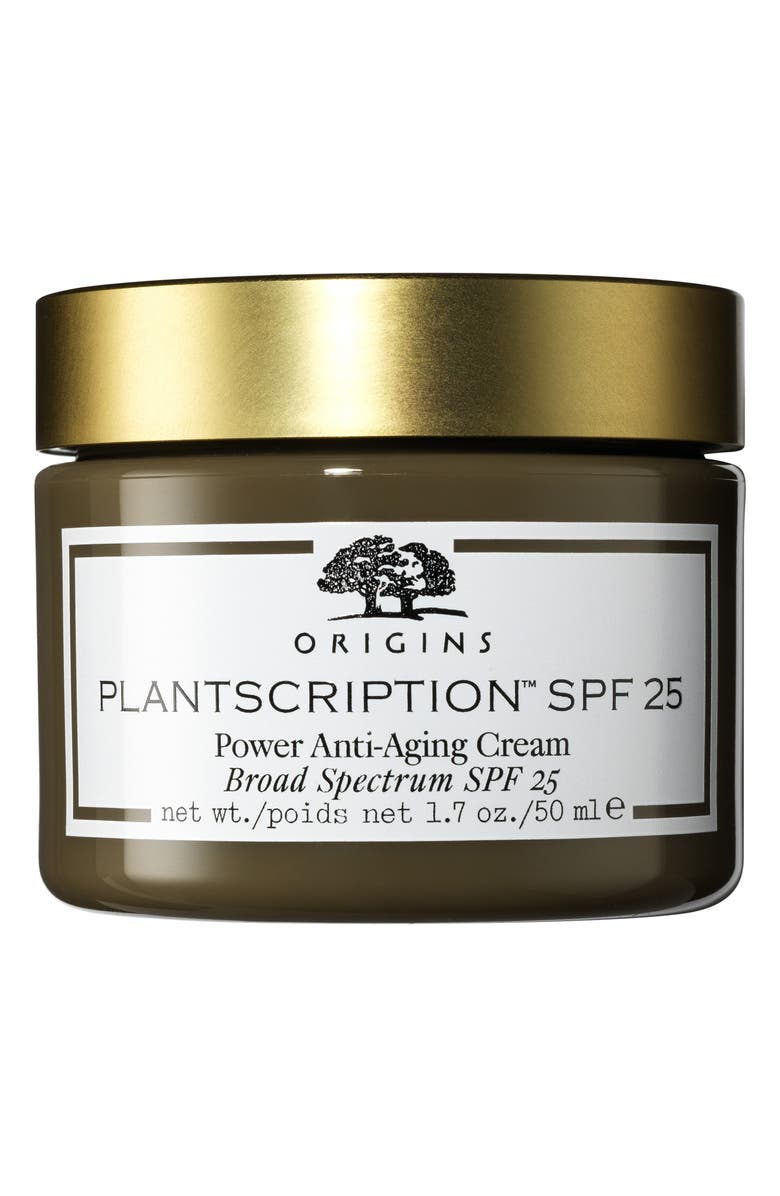 ORIGINS Plantscription<sup>™</sup> SPF 25 Power Anti-Aging Cream, Main, color, NO COLOR